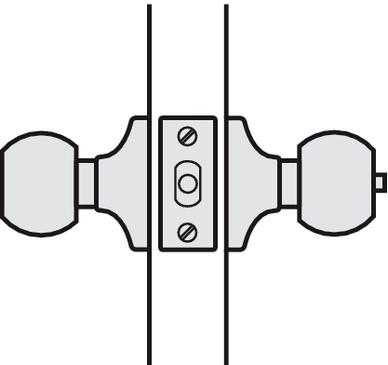 knopft rschloss leichte ausf hrung startec drehknopf. Black Bedroom Furniture Sets. Home Design Ideas