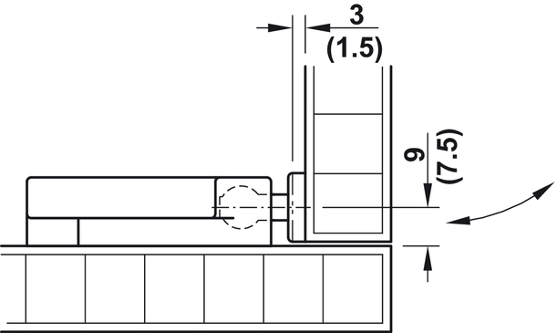 federschn pper zum schrauben kunststoff online bei h fele. Black Bedroom Furniture Sets. Home Design Ideas